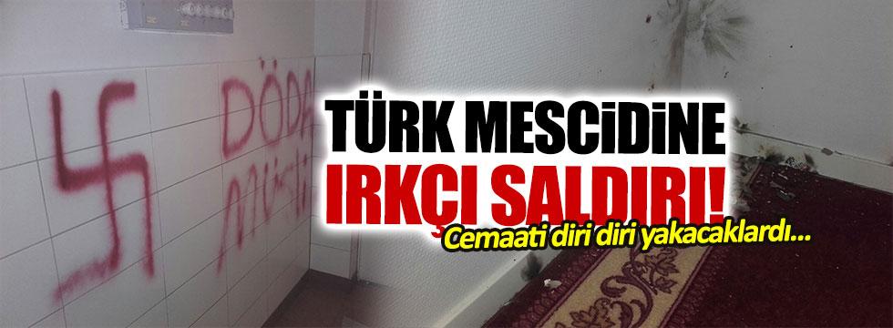 İsveç'te Türklere ait mescide ırkçı saldırı