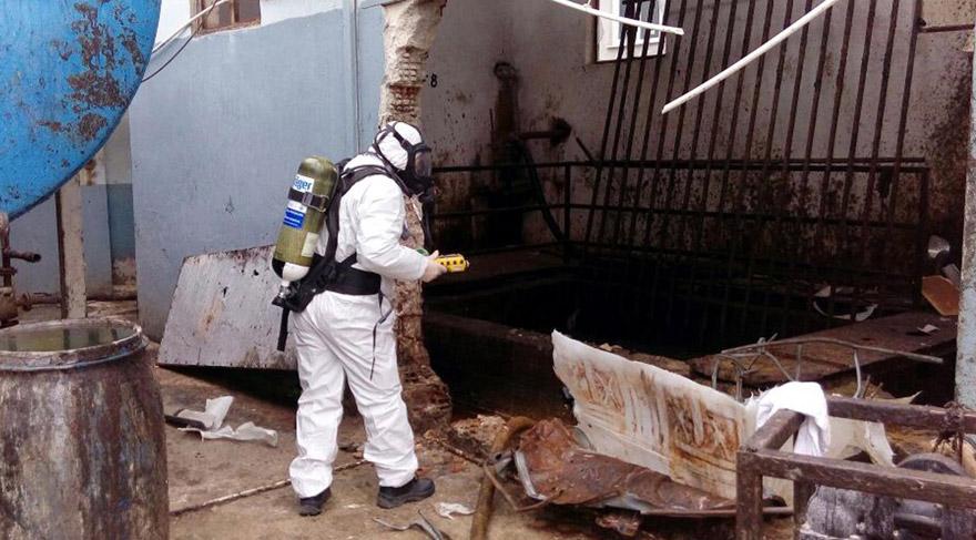 Tekirdağ'da yağ fabrikasında patlama