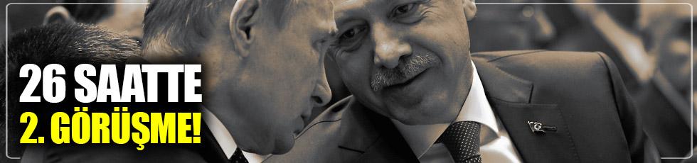 Erdoğan ve Putin'den 2. görüşme
