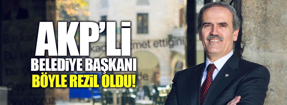 Bursa Belediye Başkanı böyle rezil oldu
