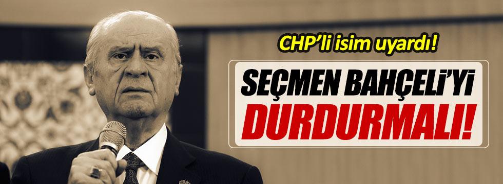 "CHP'li Moroğlu: ""MHP seçmeni Bahçeli'yi durdurmalı"""