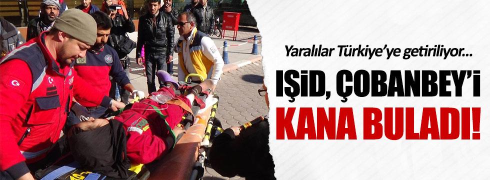 IŞİD, Çobaney'de bombalı intihar saldırısında bulundu