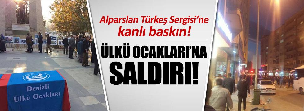 Ülkü Ocakları'nın Türkeş sergisine saldırı