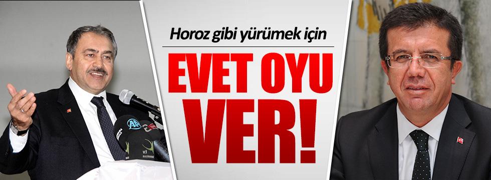AKP, referandum için meydanlarda!