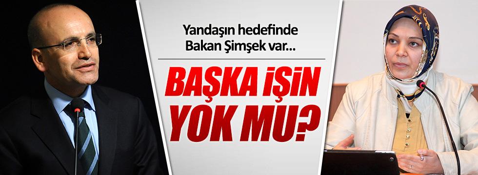 Hilal Kaplan, Ekonomi Bakanı Mehmet Şimşek'i hedef aldı