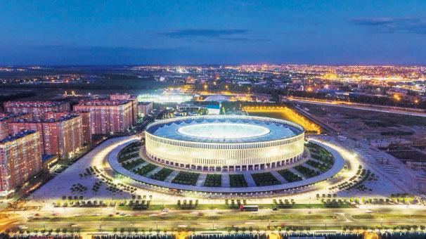Avrupa'nın en lüks stadında Türk imzası