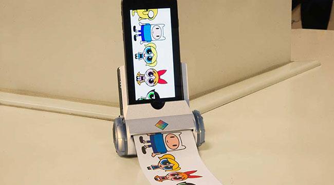iPhone'dan yeni ürün 'Printeroid'