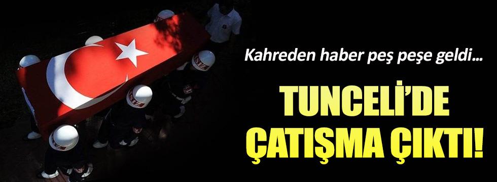 Tunceli'de çatışma! 2 asker şehit oldu