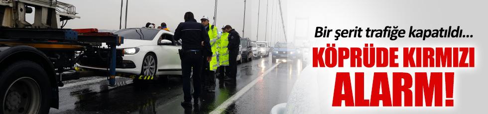 15 Temmuz Şehitler Köprüsü'nde bomba alarmı
