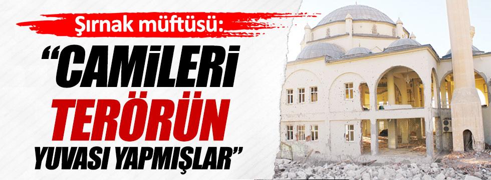 Şırnak Müftüsü Ahmet Özkan: Camileri karargâh yaptılar!
