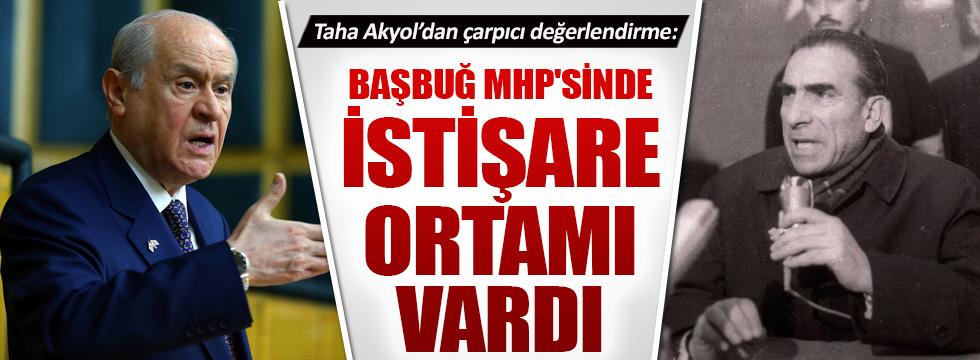 Taha Akyol'dan çarpıcı MHP değerlendirmesi