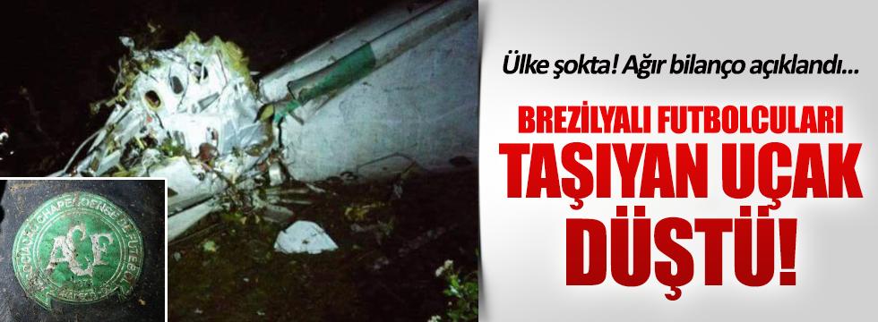 Brezilyalı futbolcuları taşıyan uçak düştü: Bilanço ağır!