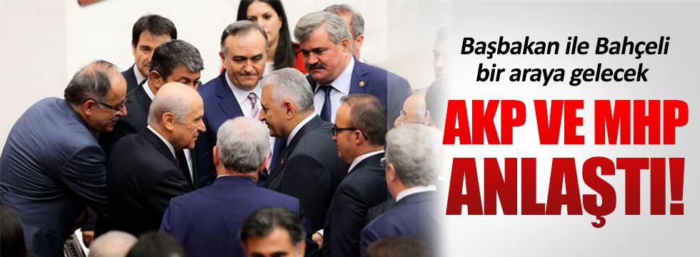 AKP - MHP arasındaki müzakere tamamlandı