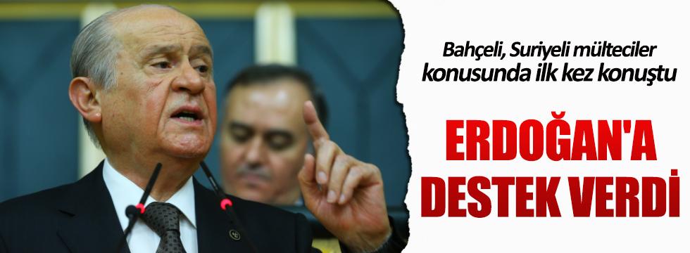 Bahçeli: Türkiye toplama kampı değildir