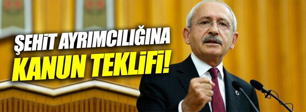 """Kılıçdaroğlu: """"Şehitler arasında ayrımcılık yapıyorlar"""""""