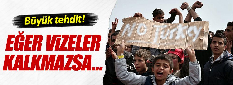 Numan Kurtulmuş'tan Avrupa'ya mülteci tehdidi