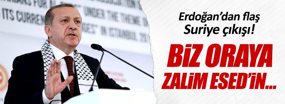 Erdoğan'dan flaş Suriye çıkışı!