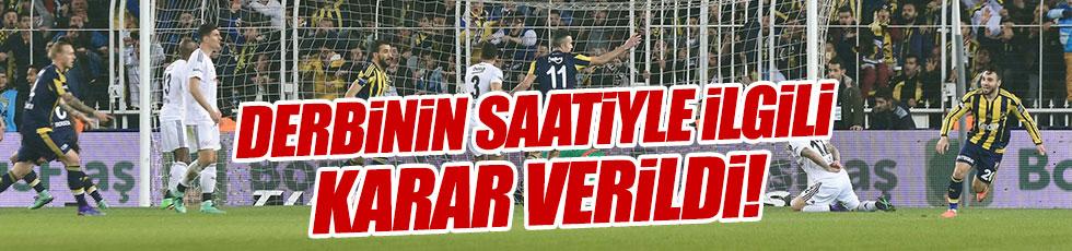 Fenerbahçe - Beşiktaş derbisi saat kaçta?