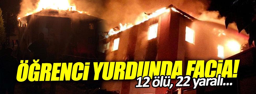 Adana'da kız öğrenci yurdunda yangın! 12 ölü, 22 yaralı