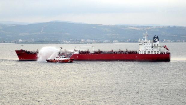 Çanakkale Boğazı'nda iki tanker çarpıştı!