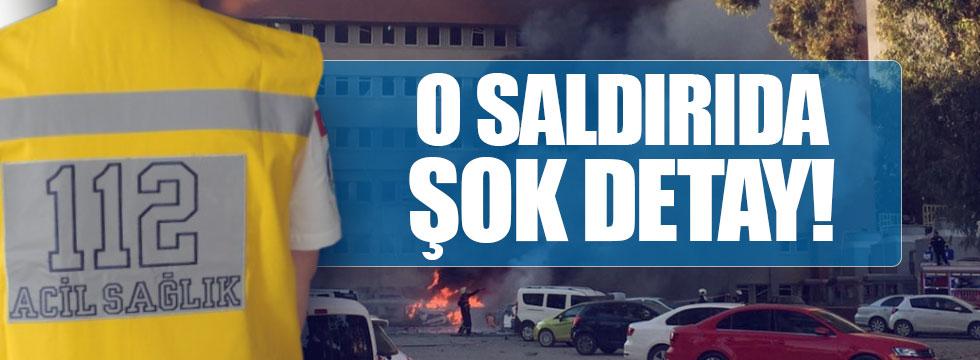 Adana'daki patlamada '112' ayrıntısı