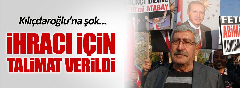 Kemal Kılıçdaroğlu'nun kardeşi partiden ihraç ediliyor