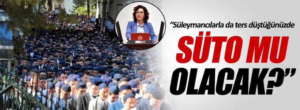 CHP'li Tur Yıldız Biçer'den cemaat ve tarikat eleştirisi