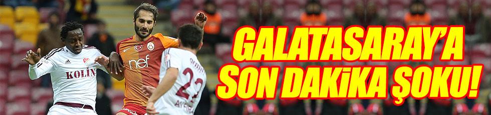 Galatasaray 1-1 Elazığspor / Maç özeti