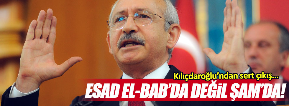 """Kılıçdaroğlu: """"Meclis tezkereyi terörle mücadele için verdi"""""""