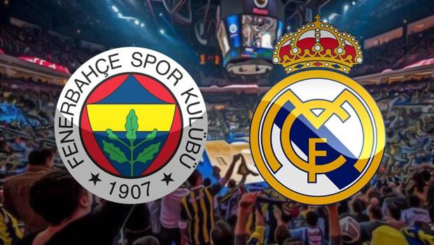 Fenerbahçe-Real Madrid maçı saat kaçta, hangi kanalda canlı yayınlanacak?