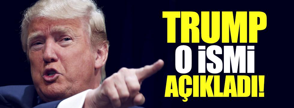 Trump Savunma Bakanlığı'na getireceği ismi açıkladı