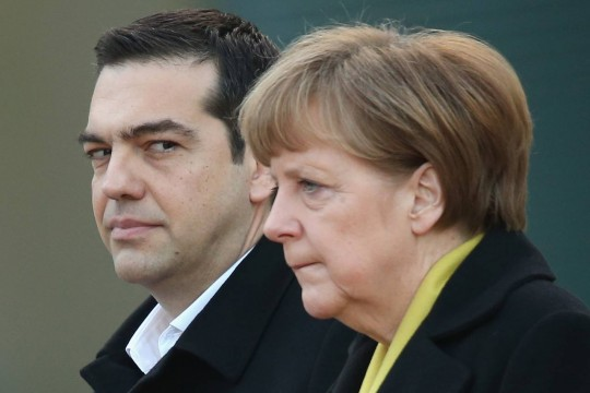 Merkel ve Çipras'tan Türkiye görüşmesi