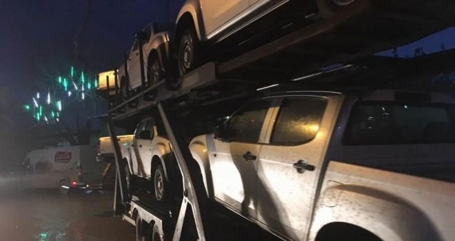 ÖSO'ya arazi araçları gönderildi