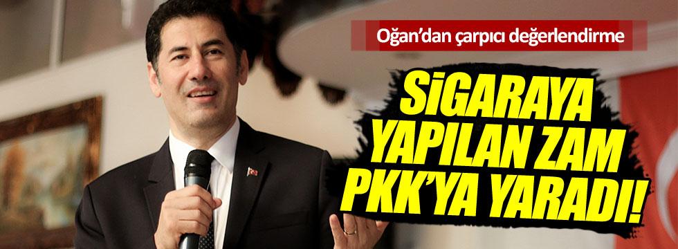 """Sinan Oğan: """"Sigara zammı PKK'ya yaradı"""""""