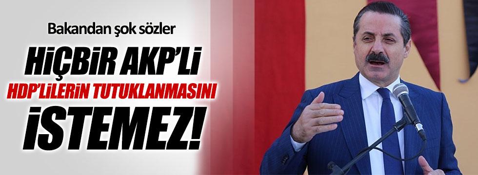 """AKP'li Bakan Faruk Çelik: """"HDP'li milletvekilleri tutuklanmamalı"""""""