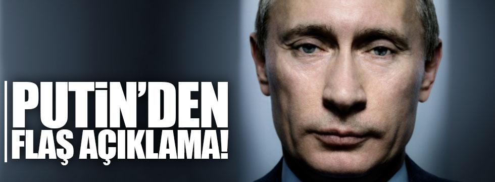 Putin'den dengeleri değiştirecek açıklama