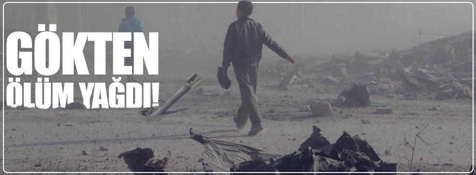 İdlib ve Halep'te yerleşim yerlerlerine saldırı