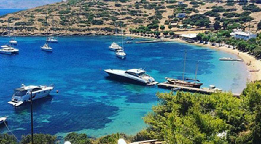 Yunanistan'ınişgal ettiği 18'inci ada!