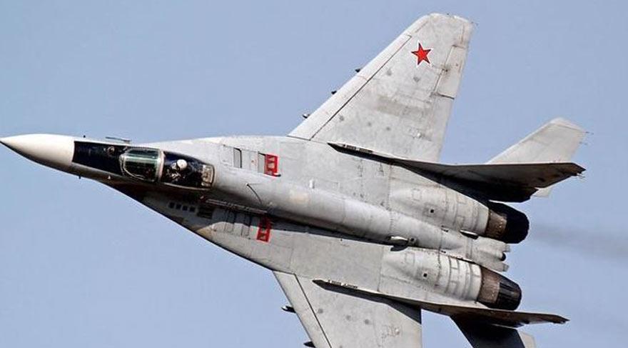 Rus uçağı düştü!