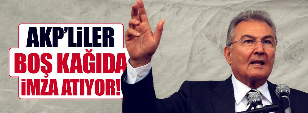 """Baykal: """"AKP'liler boş kağıda imza atıyor"""""""