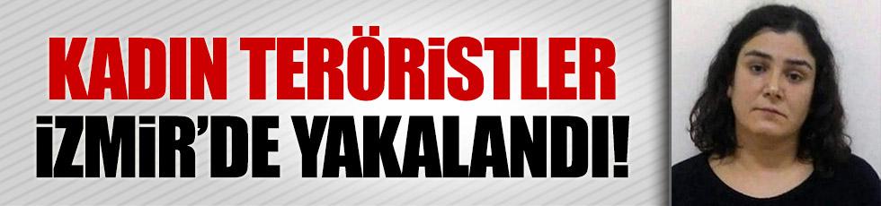 İzmir otogarında bombalı eylem hazırlığındaki iki terörist yakalandı
