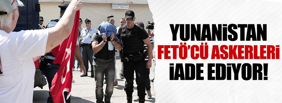 Yunanistan 3 darbeci askeri iade ediyor