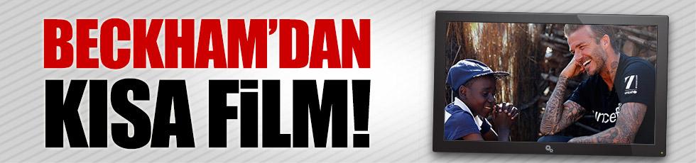 David Beckham kısa film çekti