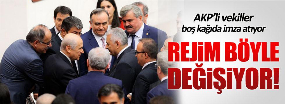 Mehmet Tezkan: AKP'li vekiller boş kağıda imza atıyor