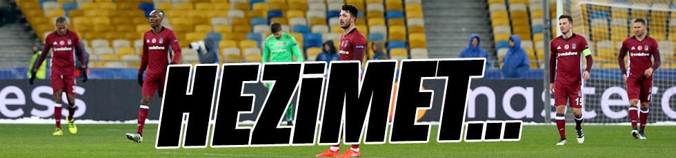 Dinamo Kiev 6-0 Beşiktaş / Maç özeti