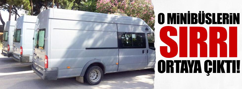 FETÖ'nün kaos minibüsleri