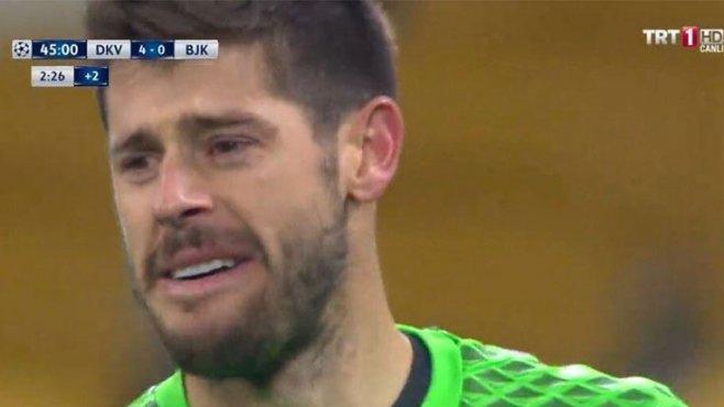 Fabri 4. gol sonrası gözyaşlarını tutamadı