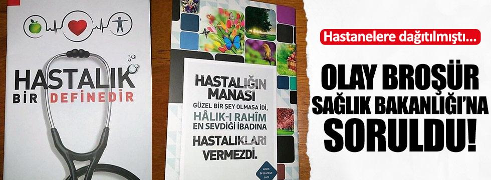 CHP'den Akdağ'a 'broşür' sorusu
