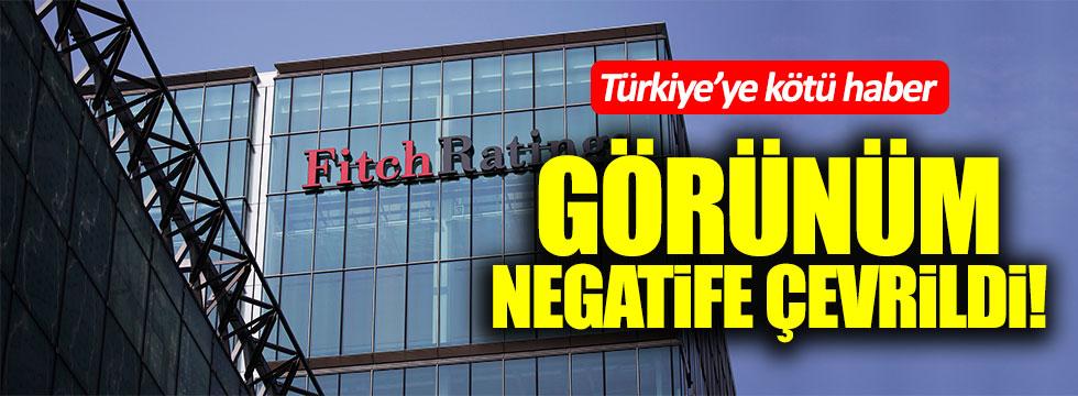 Fitch'ten Türkiye'ye kötü haber