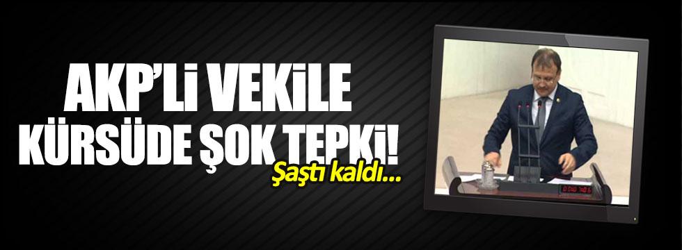 CHP'liler, AKP'li Hakan Çavuşoğlu'nu Meclis'te konuşturmadı
